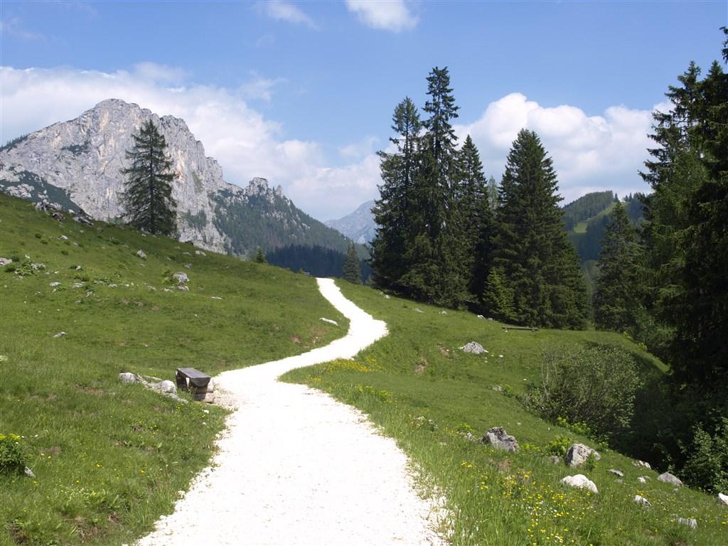 zájezdy Rakousko - Rakousko - NP Kalkalpen, turistika po horských chodníčcích