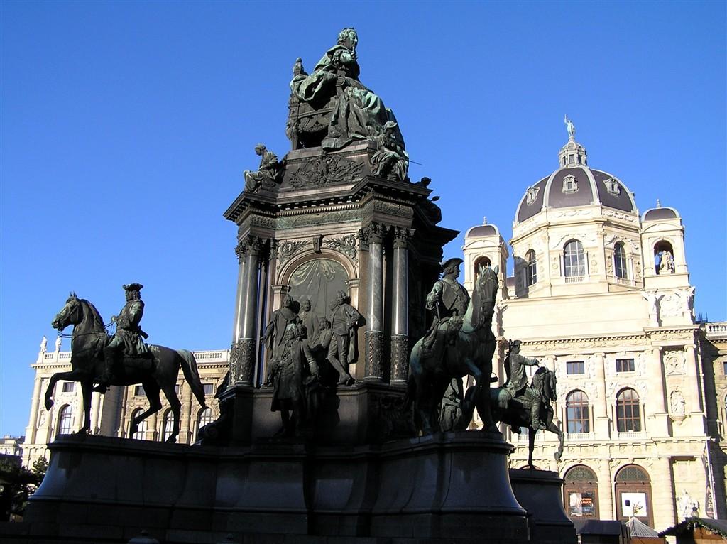 zájezdy Rakousko - Rakousko, Vídeň, nám Marie Terezie